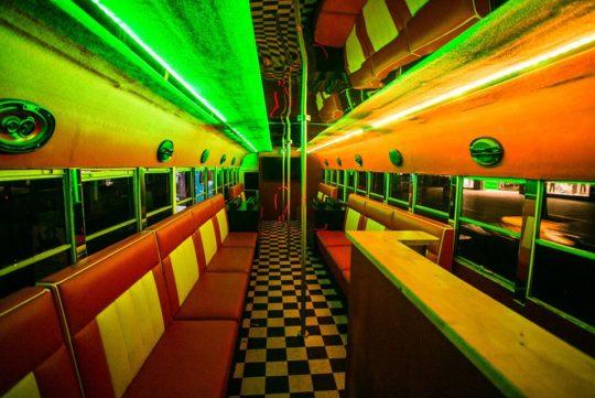 Limousinenservice American School Bus Limousine