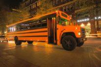 Limousinenservice American School Bus Limousine mieten