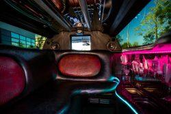 Luxus Limousine von innen